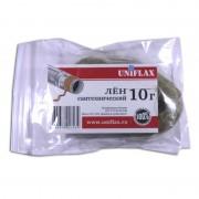 Лен Uniflax сантехнический в пакетах ZIP-LOCK 10г.