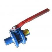 Кран шаровой стальной разборный 11с67п Ду 40 Ру16 под сварку полнопроходной