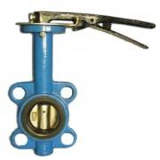 Затвор дисковый поворотный Ду-150 ( диск чугун )