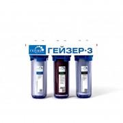 Гейзер 3 ИЖ (11039) (кран №6, прозрачные колбы, JG) для жесткой воды