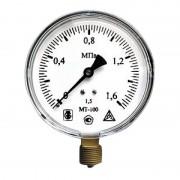 Манометр технический МТ-100 (0,6 МПа, G 1/2 дюймовая) 18