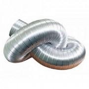 Воздуховод алюминиевый гофрированный Д -125 L - до 1,5 м