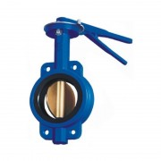 Затвор дисковый поворотный Ду-250 ( диск чугун )