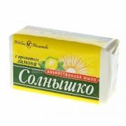 """Мыло хозяйственное """"Солнышко"""" (Лимон) (140 гр)"""