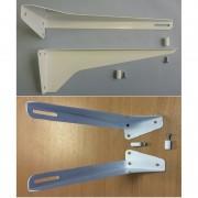 Кронштейн умывальника (стальной порошковая окраска) КСт-240 (комплект) (ПСКОВ)