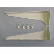 Кронштейн умывальника (стальной порошковая окраска) КСт-320 (комплект) (ПСКОВ)