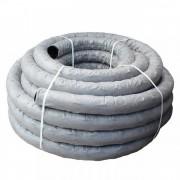 Труба дренажная гофр. ПНД с перфорацией и геотканью Дн 200 SN-4 (40 м) FD Pipe