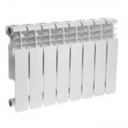 Алюминиевый радиатор Оазис PRO 350/80 6 секции